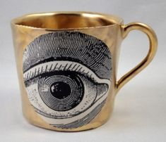 Golden eye mug