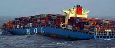 freight fail | Container ship MOL Comfort Breaks in Two #FreightCenter