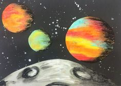 MeghCallie's Art Blog: View from the Moon