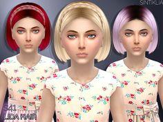 Hair Lida child by Sintiklia at TSR • Sims 4 Updates