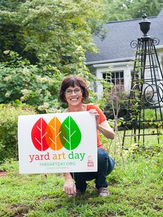Yard Art Day here in Charlotte on September 3, 2012! Will you be joining your fellow yardists by displaying your works?