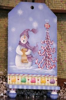 Winter Wonderland Snowman! Paint this happy fellow on any surface!
