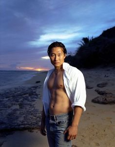 Daniel Dae Kim a.k.a Jin from Lost. Just do shirtless scenes forever.