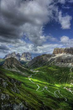 Canazei, Italy.  Province of South Tyrol , Trentino-Alto Adige