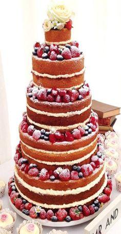 Wedding Cakes Summer Victoria Sponge 57+ Super Ideas Wedding Cake Rustic, Rustic Cake, Wedding Cakes, Bolos Naked Cake, Naked Cakes, Beautiful Cakes, Amazing Cakes, Victoria Sponge Wedding Cake, Victoria Wedding