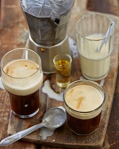 Jan Braai se Ierse koffie. Latte, Tableware, Food, Dinnerware, Dishes, Essen, Yemek, Latte Macchiato, Meals