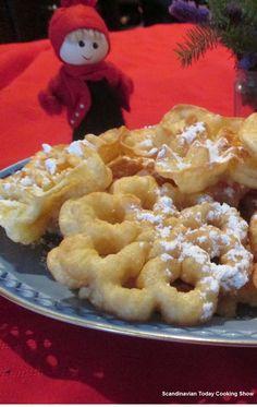 Scandinavian Today Cooking Show: Scandinavian Rosette Cookies A traditional homemade Christmas cookie recipe for Jul