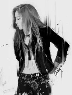 SNSD Taeyeon dream concert 2013 fanart Jelly