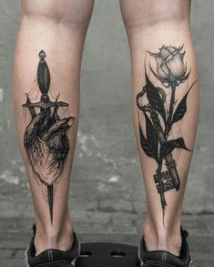 Best Geometric Tattoos And Symbolism Dream Tattoos, Badass Tattoos, Future Tattoos, Rose Tattoos, Leg Tattoos, Flower Tattoos, Black Tattoos, Body Art Tattoos, Sleeve Tattoos