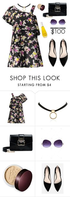 """""""Under $100: Summer Dresses"""" by paculi ❤ liked on Polyvore featuring Laura Mercier, MANGO and under100"""