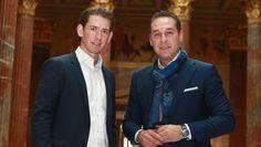 Türkis-blaue Liaison laut Umfrage klarer Favorit der Österreicher - kurier.at Chef Jackets, Fashion, Dating, Lute, Moda, Fashion Styles, Fashion Illustrations