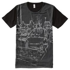Shop black and white car drawing All-Over-Print T-Shirt created by ZierNorShirt. Personalize it with photos & text or purchase as is! Black White Art, Black And White Drawing, Types Of T Shirts, Shirt Drawing, Stylish Shirts, Clothing And Textile, Car Drawings, S Shirt, White Shirts