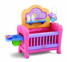 Are you looking for baby doll furniture for your child's dolls? Since buying a number of baby dolls for my grandchildren, I thought it would be great for them to have some cute furniture for their creative play time. I wanted baby doll furniture. Little Girl Toys, Baby Girl Toys, Toys For Girls, Kids Toys, Baby Doll Furniture, Doll High Chair, Accessoires Barbie, Baby Alive Dolls, Baby Doll Accessories