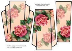 Art Deco Stacker Topper Downton Roses on Craftsuprint - View Now!