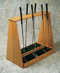 Split Putter Rack Golf Club Display