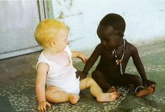Nobody is born a racist.  Hate and fear are taught.