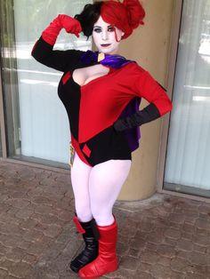 New 52 Harley Quinn cosplay from Amanda Conner comics