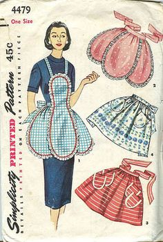 vintage apron patterns