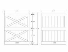 sliding gate plans free. Learn how to build wooden sliding barn doors and Dutch  See door images step by instructions free PDF prints How make a gateway fence DIY Outdoor Projects