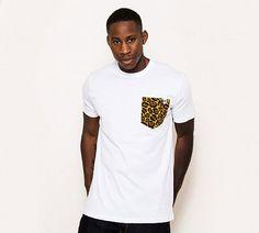 Trend: Camiseta Básica com Bolso Estampado