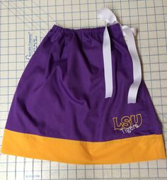 LSU Girls' Pillowcase Dress