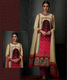Buy Magenta Pashmina Pakistani Style Suit 78045 online at lowest price from huge collection of salwar kameez at Indianclothstore.com.