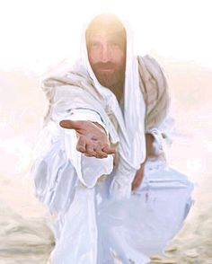 The Bible 384072674470995649 - photograph of jesus christ squating reaching out. - My Pins - The Bible 384072674470995649 – photograph of jesus christ squating reaching out mark of the nail - Jesus Christ Lds, Pictures Of Jesus Christ, Jesus Christ Images, Jesus Is Lord, Savior, Lds Art, Bible Art, Arte Lds, Lds Pictures
