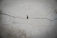 Cement Eclipses from Isaac Cordal | Wooster Collective