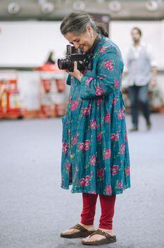 Wear About. Dayanita Singh at India Fashion Week, Delhi