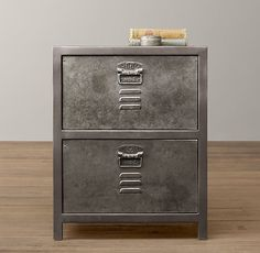 Vintage Locker Nightstand- something like this for Cameron's room