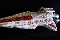 Diego Quijano Scaleworks: GUEST GALLERY: Venator-class Republic Star Destroyer 1/2274 by THE MADHATTER.