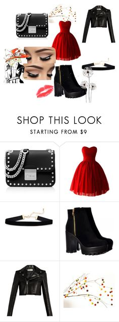 """""""red dance"""" by autumn-zuercher on Polyvore featuring MICHAEL Michael Kors and Yves Saint Laurent"""
