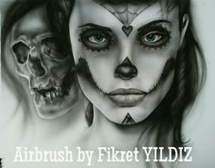 One of my Airbrush works...