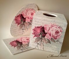 Rosy climates...the decoupage work is flawless