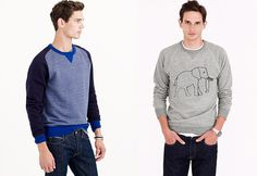 Crew Neck Sweatshirts | Community Post: 11 Essential Fall Style Staples Every Guy Needs Now