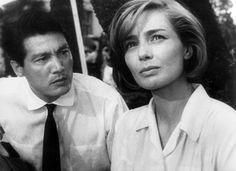 """Emmanuelle Riva dans """"Hiroshima mon amour"""" de A.Resnais"""