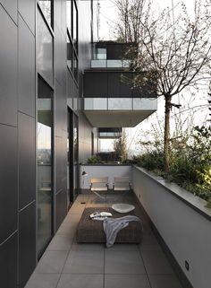 Penthouse at Bosco Verticale de Matteo Nunziati   Espacios habitables