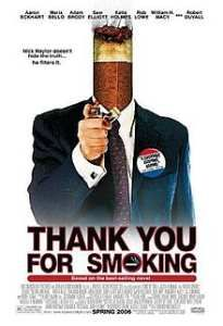"""""""Thank You for Smoking"""" Director: Jason Reitman, Stars: Joan Lunden, Aaron Eckhart, Cameron Bright All Movies, Comedy Movies, Movies To Watch, Movies Online, Comedy Comedy, Movies 2014, Adam Brody, Sam Elliott, Robert Duvall"""