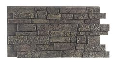 Texture Plus Panels - Stonewall - Gray - Interlock