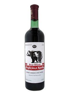 Bear Blood Semi-Sweet Red Wine 750ML