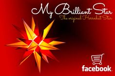 Now you can by MyBrilliantStar directly on facebook. We are happy to announce that as of now you can order your favorite Herrnhut star directly on facebook. Check out our shop. #mybrilliantstar #herrnhutstar #moravianstar