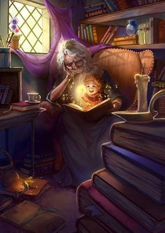 Fantasy illustrations by Keri Ruediger Fantasy World, Fantasy Art, Fantasy Heroes, Fantasy Fiction, Magical Room, Male Witch, Fantasy Wizard, Fable, Legends And Myths