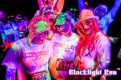 Blacklight Run™ is the Brightest 5K on the Planet. Come out and get glowed and have the time of your life.