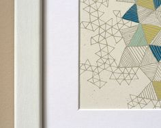 Love Triangles Print - Wit and Whistle