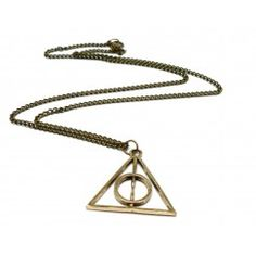 Collier Reliques de la Mort Bronze - Harry Potter