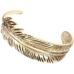 Yoins Brass Leaf Bracelet In Vintage ($4.08) ❤ liked on Polyvore featuring jewelry, bracelets, yoins, accessories, gold, vintage jewelry, vintage jewellery, cuff jewelry, cuff bangle and brass jewelry