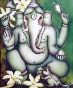 Green Ganesha II