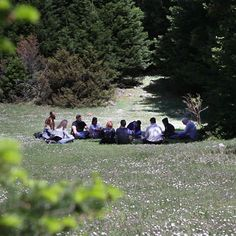 """The """"Think Lab"""" and Action """"The Earth and Heaven School"""" organized on Sunday, May 7 in Greece, two outdoor Atmospheres of Knowledge and Wisdom on Mountain Oiti and in the forest of Pavliani on the theme: The Awakening of Cosmic Consciousness """". Teacher: Alexis Karpouzos."""