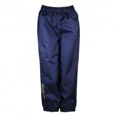 Rainpants with waistband, breathable, marine blue, Minymo