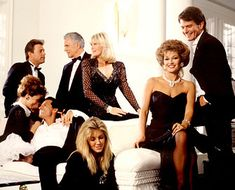 """my oldest daughter was named Sabella after actress Stephanie Beecham played """"Sabella"""". Ricardo Monteblan was her boyfriend on the show and I loved the way he would say her name. Linda Evans, Dynasty The Reunion, Tvs, Jack Coleman, Dynasty Tv Show, John Forsythe, Der Denver Clan, Hollywood Story, Old Time Radio"""